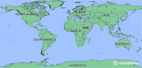 yemen   yemen located   world