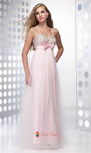 Pale Pink Spaghetti Strap Dress,Light Pink Prom Dress ...