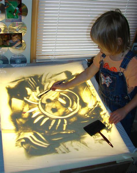 reggio emilia light table inspiration preschool art spaces children plays