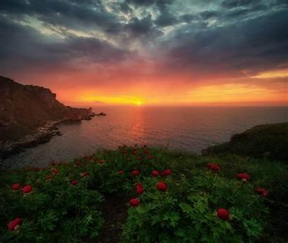 Sunrise Nature Horizon Background Wallpapers 4k Resolution
