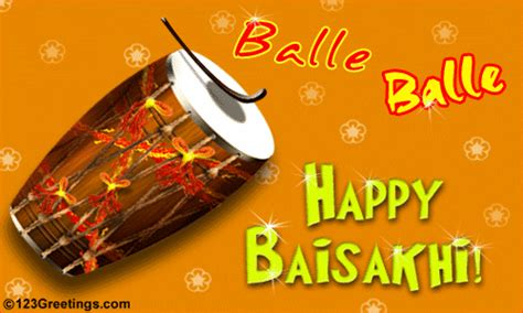 balle balle baisakhi ecards greeting cards