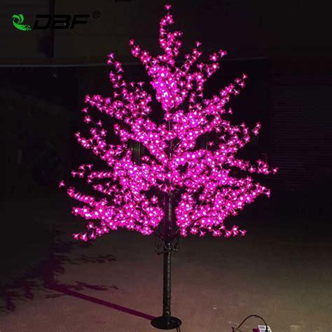 led christmas night lights luxury handmade artificial led cherry blossom tree night