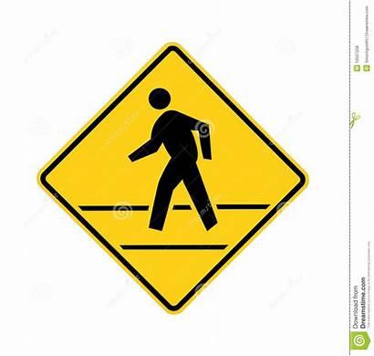 Crosswalk Yellow Road Lines Symbol Safety Sinal