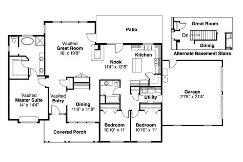 country kitchen floor plans country kitchen house plans decorating ideas 6062