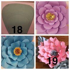 41 mejores imágenes de Moldes de Flores Gigantes Moldes