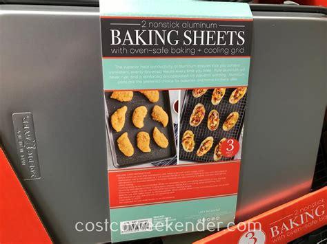 baking sheets nordic ware nonstick aluminum costco piece baker any