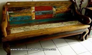 Bb1-19 Bali Boat Bench Furniture