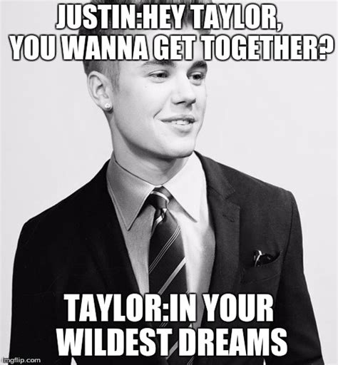 In Your Dreams Meme - justin bieber suit meme imgflip
