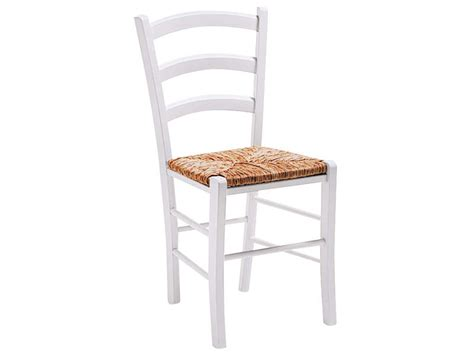 chaise en bois blanc pas cher chaise en h 234 tre massif avec assise en paille paysanne coloris teint 233 blanc vente de chaise