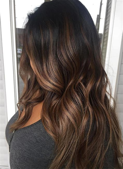 perfect brunette ombre hair color for long hair 2017 2018