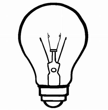 Coloring Pages Bulb Christmas Ornament Important Invention