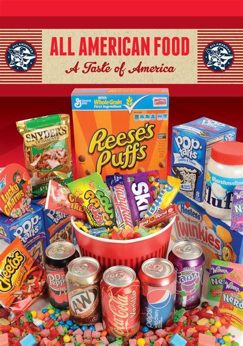 amerikanische suessigkeiten box  lebensmittel