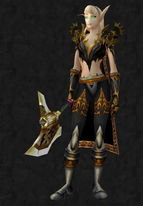 transmog gold wow armor plate rogue chest warcraft shoulder theme mail exalted abyssal cloak sexiest pauldrons pauldron void horde request