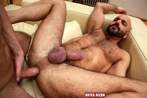 Adam Russo Getting A Big Bareback Uncut Cock Up His Hairy