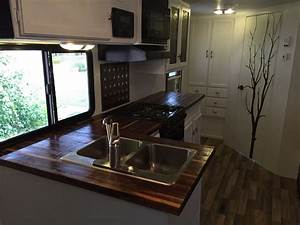Hand Crafted Butcherblock Countertops For Rv by MGA Custom