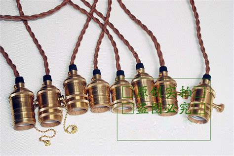 Vintage Light Bulb Pendant Light Kit Diy Accessories