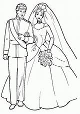 Coloring Anniversary Pages Wedding Popular sketch template