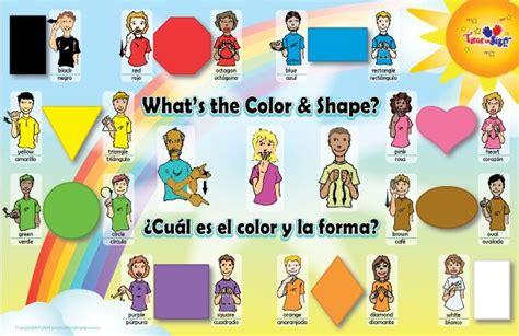 color sign language asl colors chart asl interpreting colors