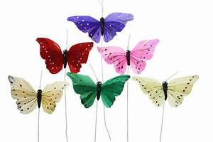 Schmetterlinge Als Deko : deko schmetterlinge bunt sortiert 12 cm eur 0 79 ~ Lizthompson.info Haus und Dekorationen