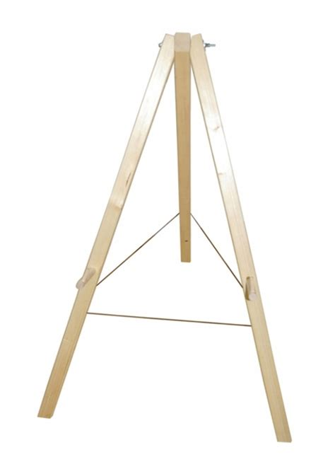 wooden tripod floor l target target stand wood