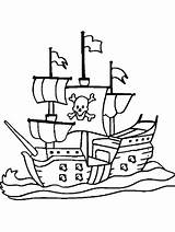 Pirate Coloring Ship Printable Boat Michigan Boys Ferry Wolverines Boats Pirates Fresh Coloringpagebase Getcolorings Astounding Recommended Space Crafts Lego Colors sketch template
