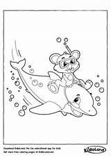 Coloring Pages Kidloland Underwater Worksheets Printable sketch template