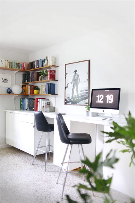 make your own custom built in desk a beautiful mess