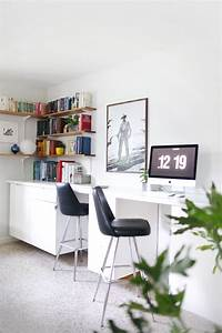 built in desk Make Your Own Custom Built-In Desk – A Beautiful Mess