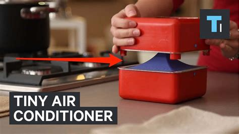 tiny air conditioner youtube