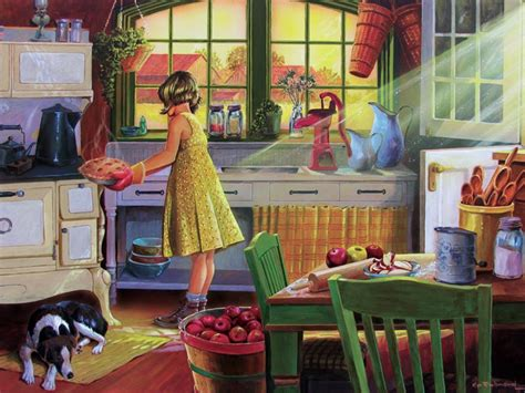 kitchen for adults apple pie kitchen jigsaw puzzle puzzlewarehouse