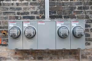 4 Bank Electrical Meter Box