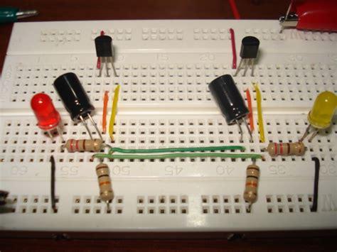 Electronica Practica Flash Con Transistores