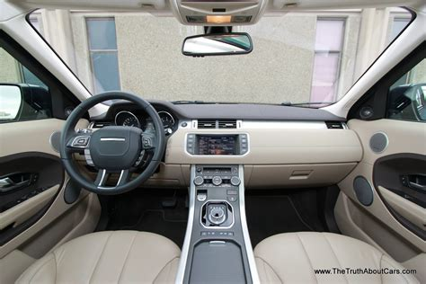 land rover range rover evoque interior dashboard
