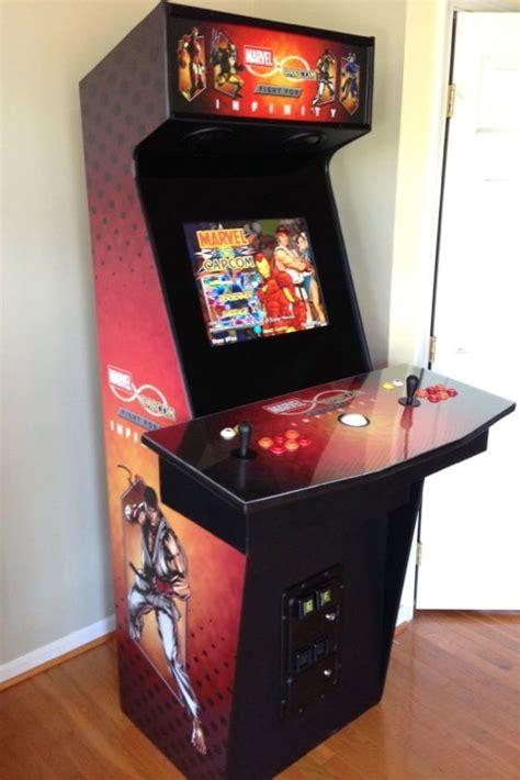 custom arcade cabinet kits custom mame arcade cabinet marvel vs capcom the fight