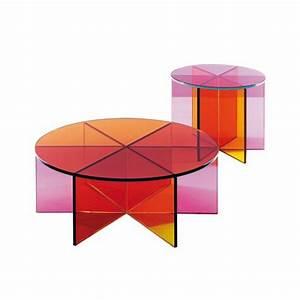 Table Basse Rose : table basse color e table basse table pliante et table de cuisine ~ Teatrodelosmanantiales.com Idées de Décoration