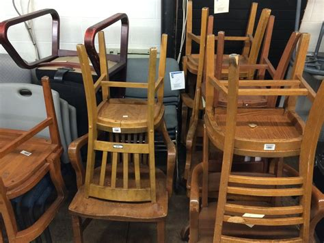 used wooden captains chairs wood chairs captains chairs with casters different