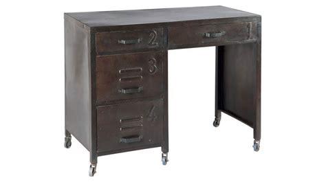 bureau sur roulettes pour ordinateur bureau en acier 4 tiroirs sur roulettes bureau