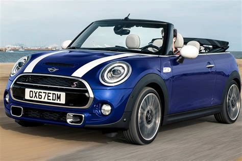 Mini Cooper Blue Edition Backgrounds by 2019 Mini Cooper S Convertible Front Motion Autobics