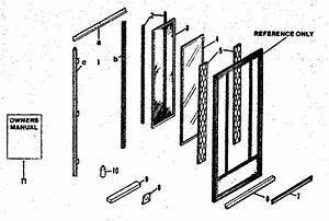 Replacement Parts    X Side Panels Diagram  U0026 Parts List For