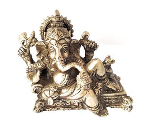Brass Lord Ganesha Showpiece For Gift Athizay