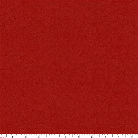 Solid Scarlet Red Minky Fabric By The Yard