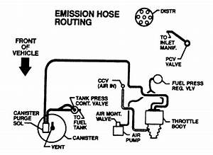1992 Camaro Vacuum Hose Diagram  1992  Free Engine Image For User Manual Download