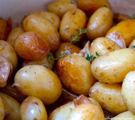 cuisiner pomme de terre grenaille pommes de terre grenaille à la cocotte