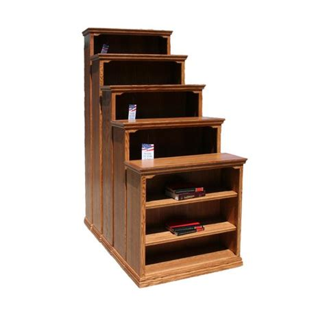 24 W Bookcase by Od O T2430 Traditional Oak Bookcase 24 Quot W X 13 Quot D X 30 Quot H
