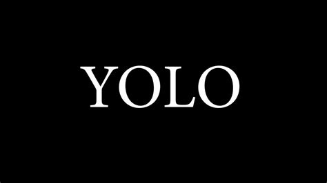 Your resource for web acronyms, web abbreviations and netspeak. YOLO- Spoken Word You Only Live Once #YOLO - YouTube