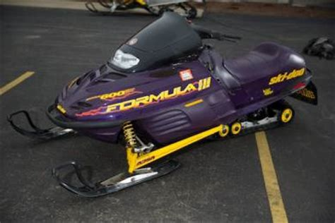 formula 3 skidoo 1997 ski doo formula iii 600 for sale used snowmobile