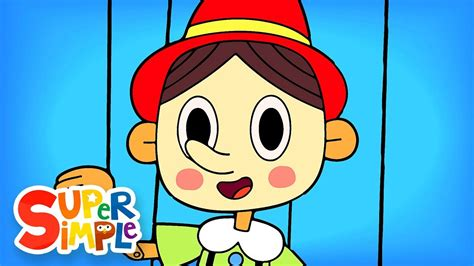 The Pinocchio  Nursery Rhymes  Super Simple Songs Youtube