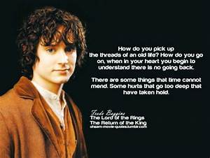 sadly too true.... Frodo Elvish Quotes