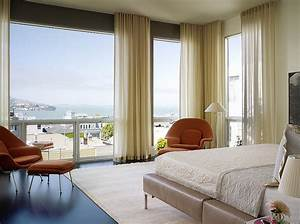sheer curtains ideas pictures design inspiration With modern master bedroom curtains