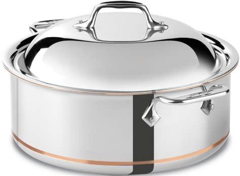 clad  ss copper core  ply bonded dishwasher safe saute pan cookware  quart silver